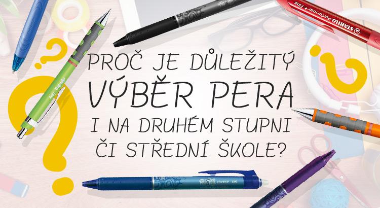 banner s pery pro 2. stupeň