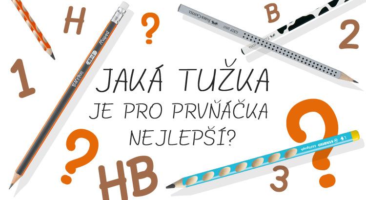 jak vybrat tužku pro prvňáčka