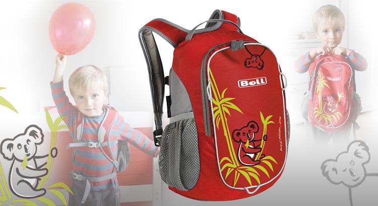 d3dc1d53382 Dětský batoh Boll očima maminky – Školní svět