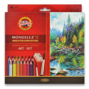 Akvarelové pastelky Mondeluz Koh-i-noor