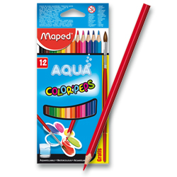 Pastelky Maped Color´Peps Aqua