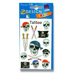 tetování s piráty