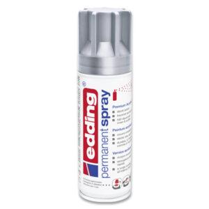 Akrylový sprej Edding stříbrný