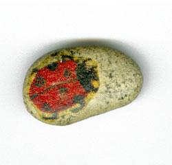 Ubrousková technika - kamínek