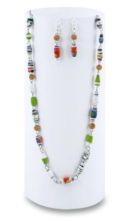 Šperky z papírových korálků