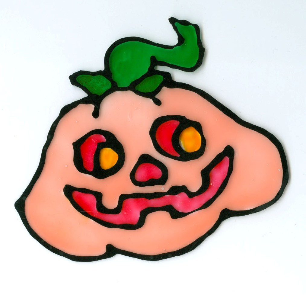 Halloweenská okna