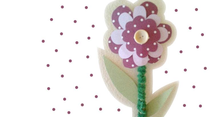 letní květina návod