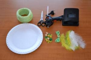 potřeby na vyrábění lapače snů