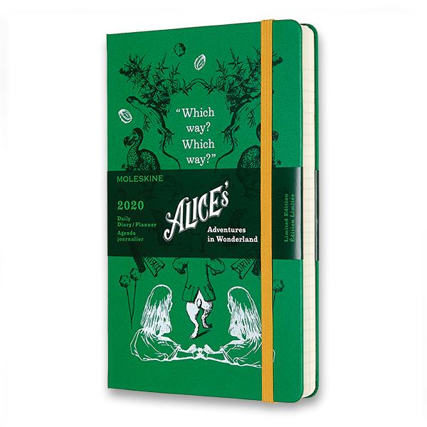Limitovaná edice ročního diáře Moleskine -  Alenka v říši divů