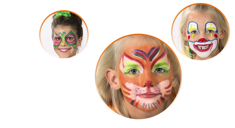 čím namalovat obličej