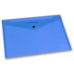 Modrá spisovka s drukem