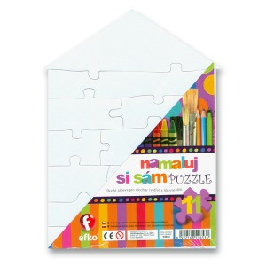 MaxiPuzzle - domeček