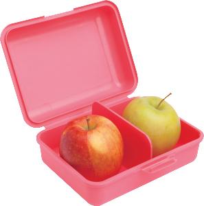 Box na svačinu s jablky