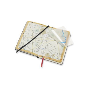 Zápisník Moleskine edice City s mapou města