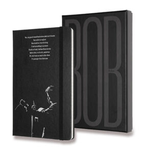 Limitovaná edice zápisníku Moleskine - Bob Dylan