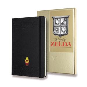 Limitovaná edice zápisníku Moleskine - Zelda