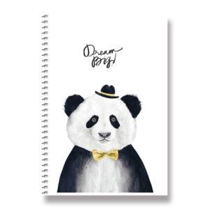 Kroužkový blok s pandou