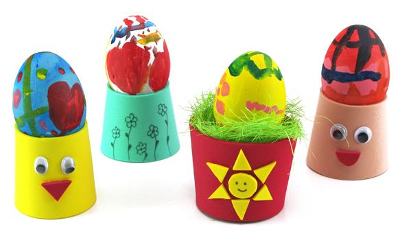 Velikonoční stojánky z pěnovky
