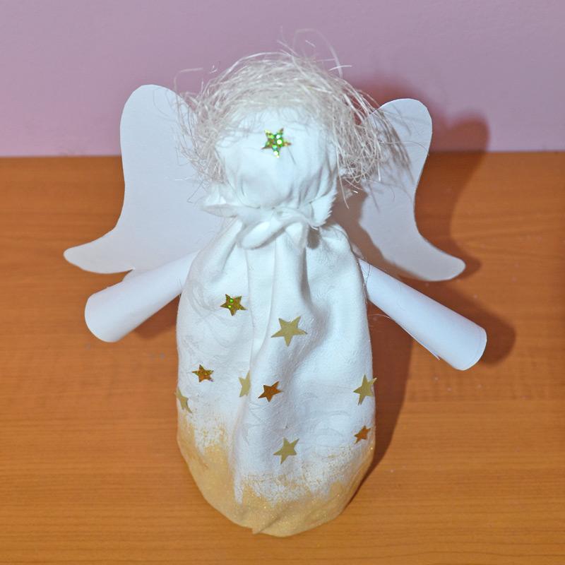 vánoční anděl -diy