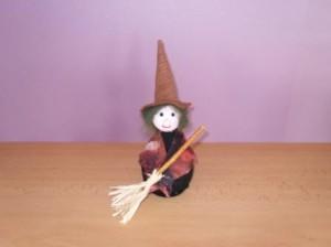 Čarodějnice s koštětem