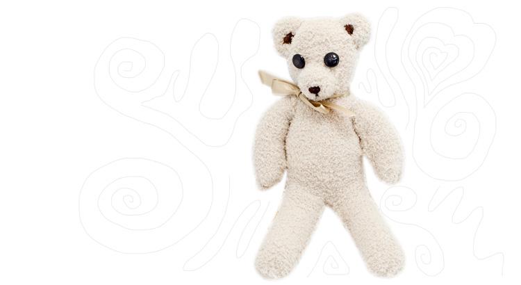 medvěd z ponožek