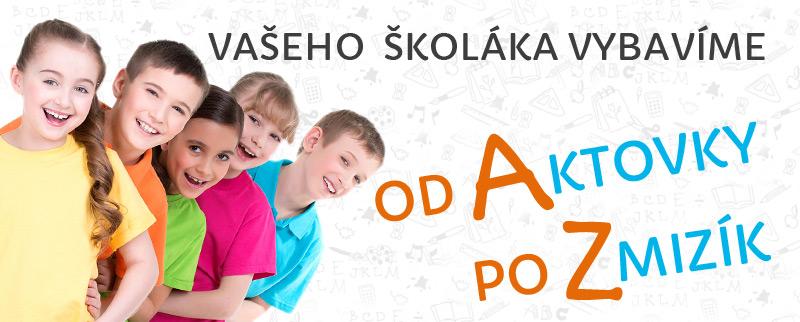 Výbava pro školáka od Aktovky po Zmizík