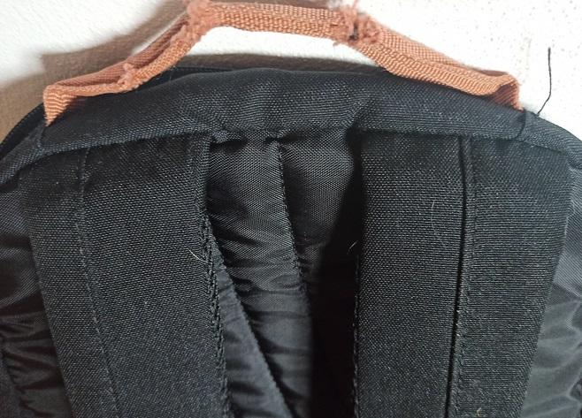 školní batoh Walker Pure černý popruhy