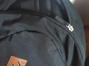 školní batoh Walker Pure černý zip