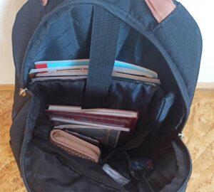 školní batoh Walker Pure se školními potřebami