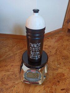 Zvážená plná Zdravá lahev 0,5 l