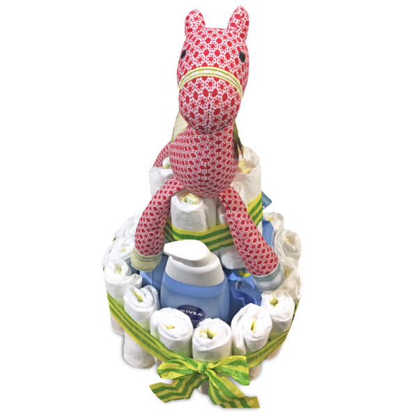 Plenkový dort pro miminko - DIY