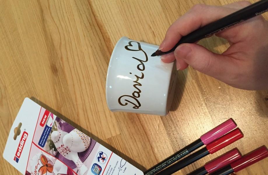 malování na hrnek