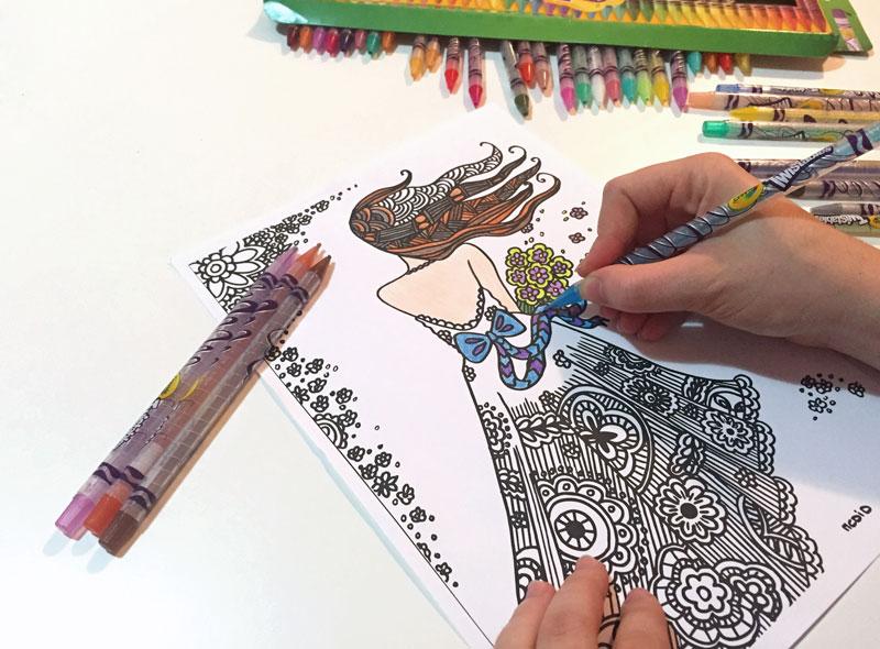 twistables crayola vybarvování omalovánky