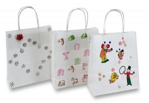 Dárkové tašky od dětí