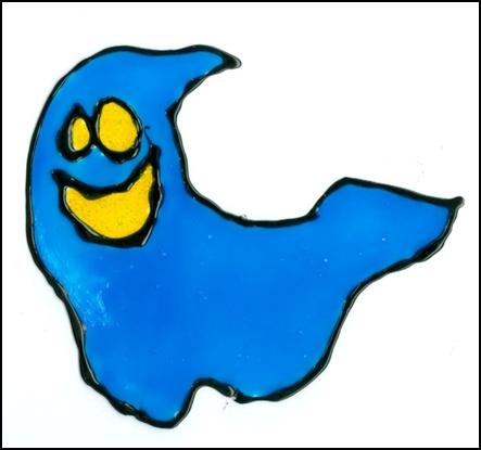 Duch - barvy na sklo