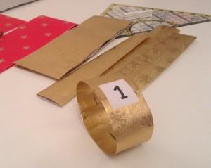 Vytvoření kroužku z papíru