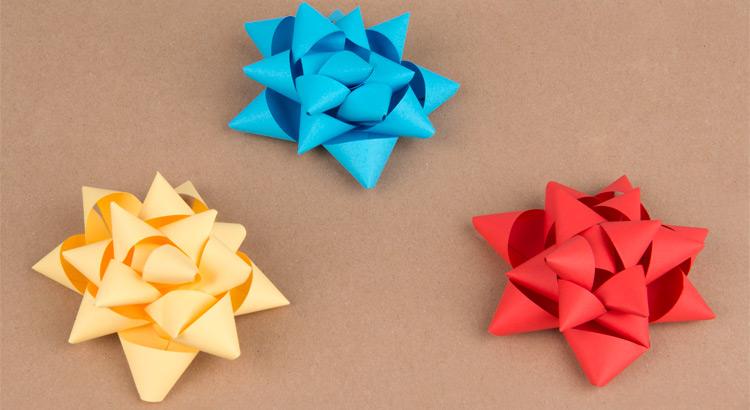 Jak vyrobit mašli z papíru