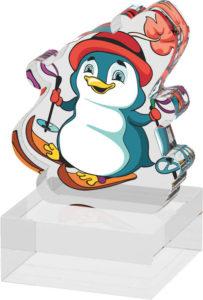 Pohár s tučňákem