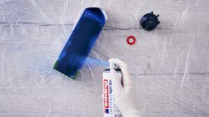 Použití akrylového spreje Edding
