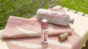 co všechno potřebujete na dekoraci textilu