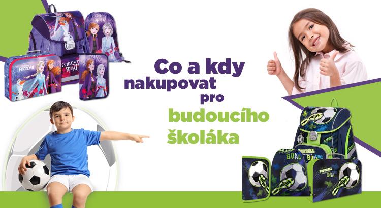 školní sady pro holky a kluky