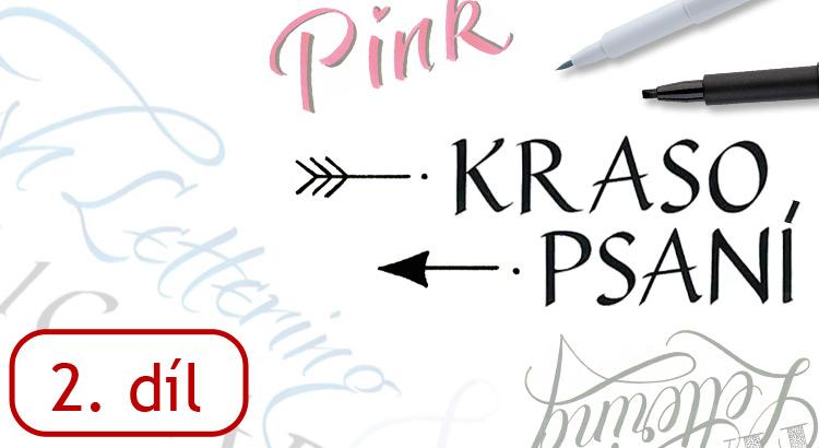 Jak se naučit krasopsaní - abeceda