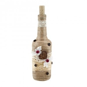 Dekorativní lahev – návod na výrobu