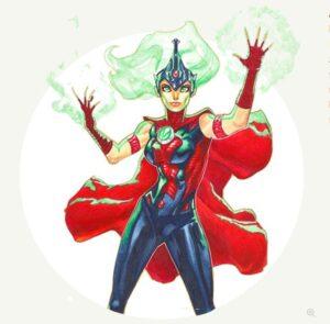 Mamka rodiny superhrdinů