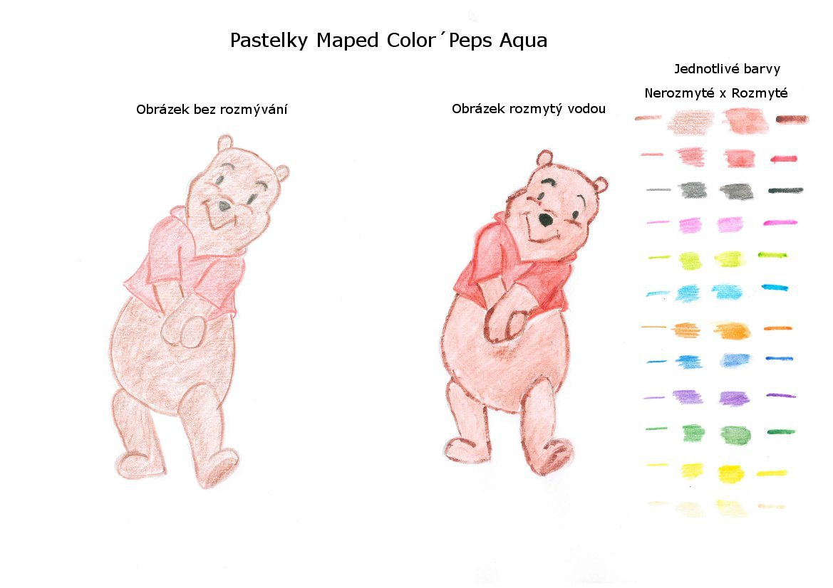 Test pastelek Maped Aqua Color´Peps