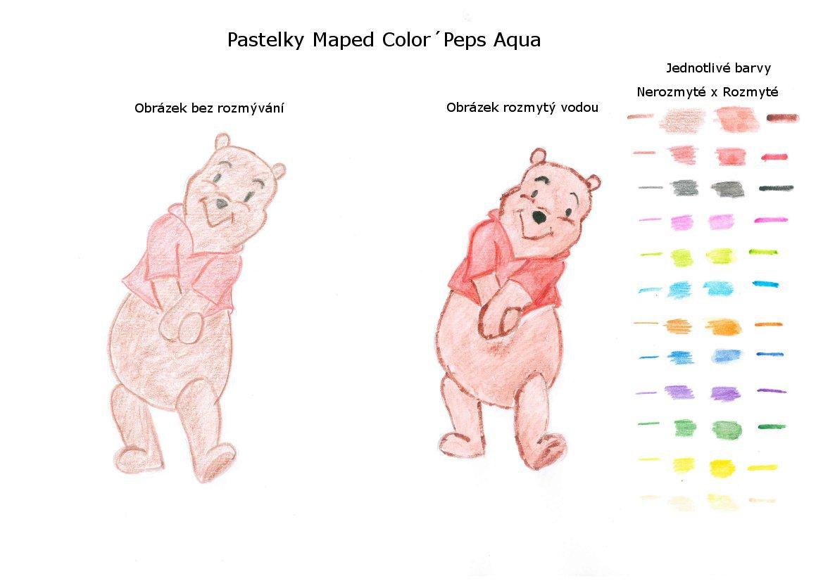 Test pastelek Maped Aqua Color´Peps