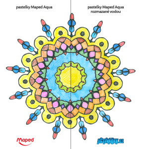 maped aqua mandala