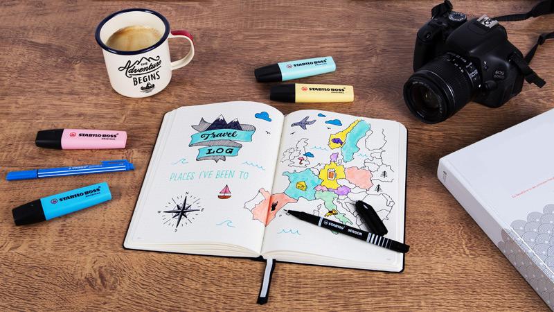 cestovatelská Bulett  Journal