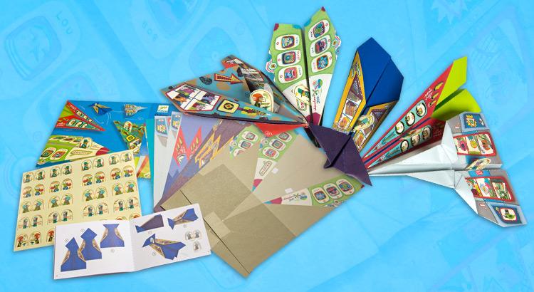 djeco origami letadla