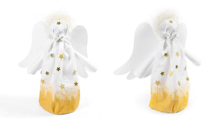 dekorace andílek - diy